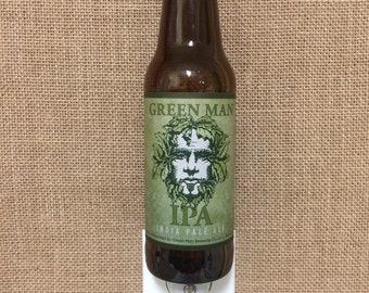 Greenman IPA 12oz. Glass Bottle Night Light