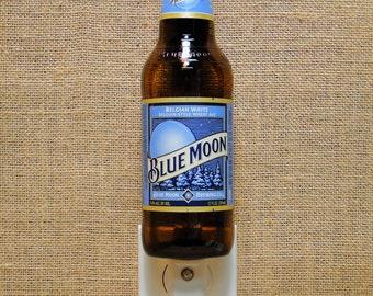 Blue Moon Belgian White 12oz. Glass Bottle Night