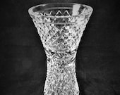 Waterford Crystal Glandore Flared Flower Vase 8 quot