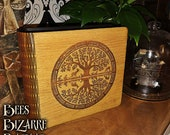 Oak Photo Storage Box - Tree