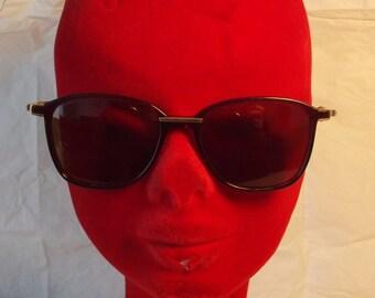 6b7741e642e Enrico Coveri 80s Hipster Square Wayfarer Style Vintage Sunglasses New Nos  Made in Italy
