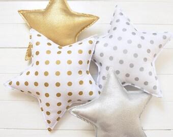 Star Pillow Star Shaped Pillow Star Nursery Star Decor Kids Pillow Star  Cushion Decorative Star Pillow