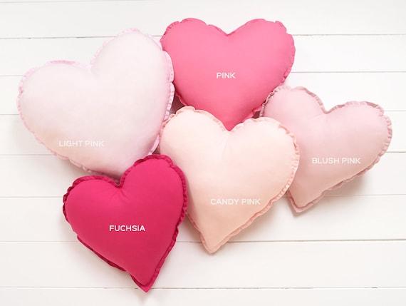 Heart shaped pillow | Etsy