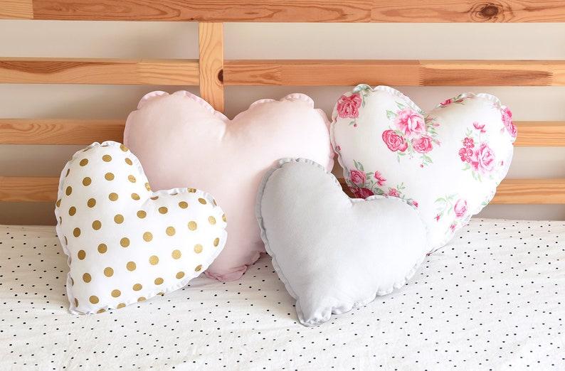 Herz Kissen Herz Kissen herzförmige Kissen Kinderzimmer Dekor Kinderzimmer  Dekor Teenager-Mädchen Zimmer Dekor Kissen Kinder Kissen ...