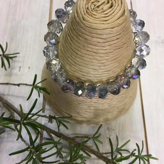 Bracelet - Sparkling crystal holiday bracelet