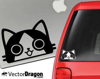 Palico Monster Hunter Vinyl Decal for Laptop or Car