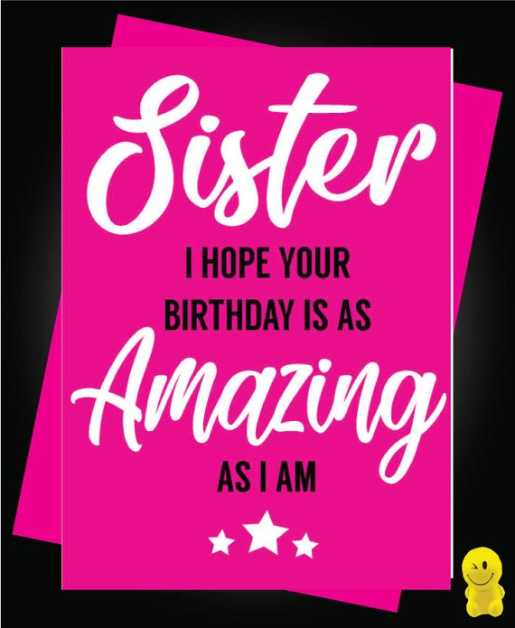 Sister In Law Brother C470 Funny Rude Birthday Card