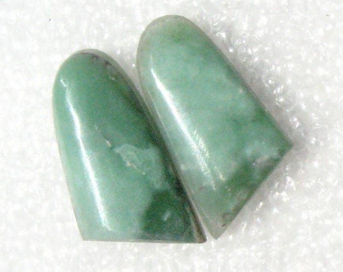 Variscite earring cabochons
