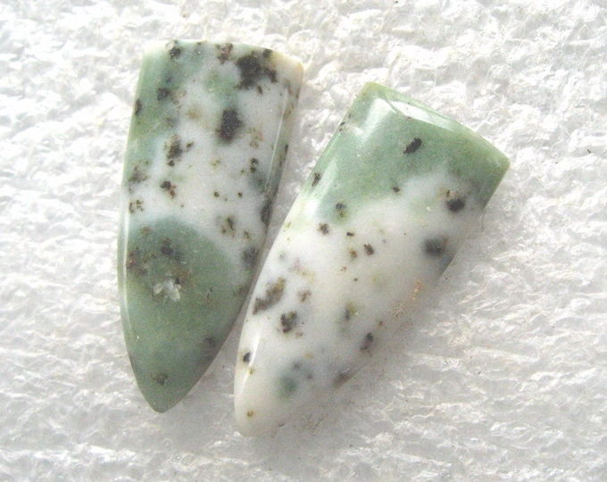 Wyoming Jade earring cabochons
