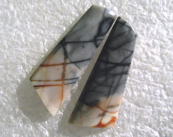 Picasso Marble earring cabochons