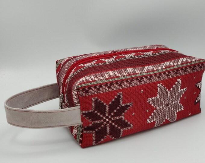 Project Bag Christmas Knitbox, box bag for knitting, crochet or anything you like