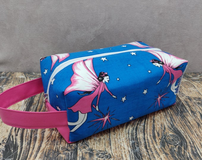 Fairy Knitbox, a Project Bag for knitting, crochet, or whatever you like