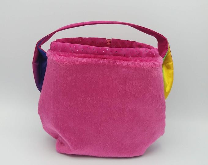 Unicorn Ears bag, knitting bag, project bag, drawstring bag for knitting, crochet or anything you like