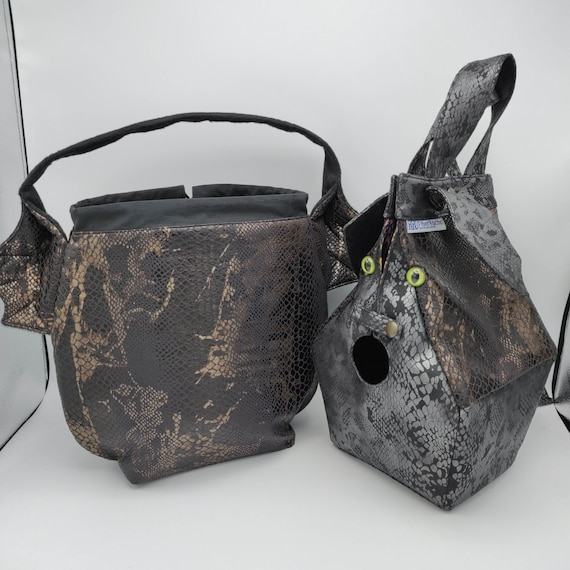 drawstring bag for knitting variation on the earsbag crochet or anything you like Dragon Wing bag