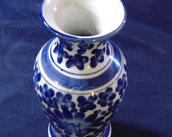 Charming Blue White Bud Vase