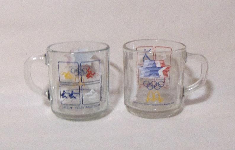 1984 LA Olympic McDonalds Mugs
