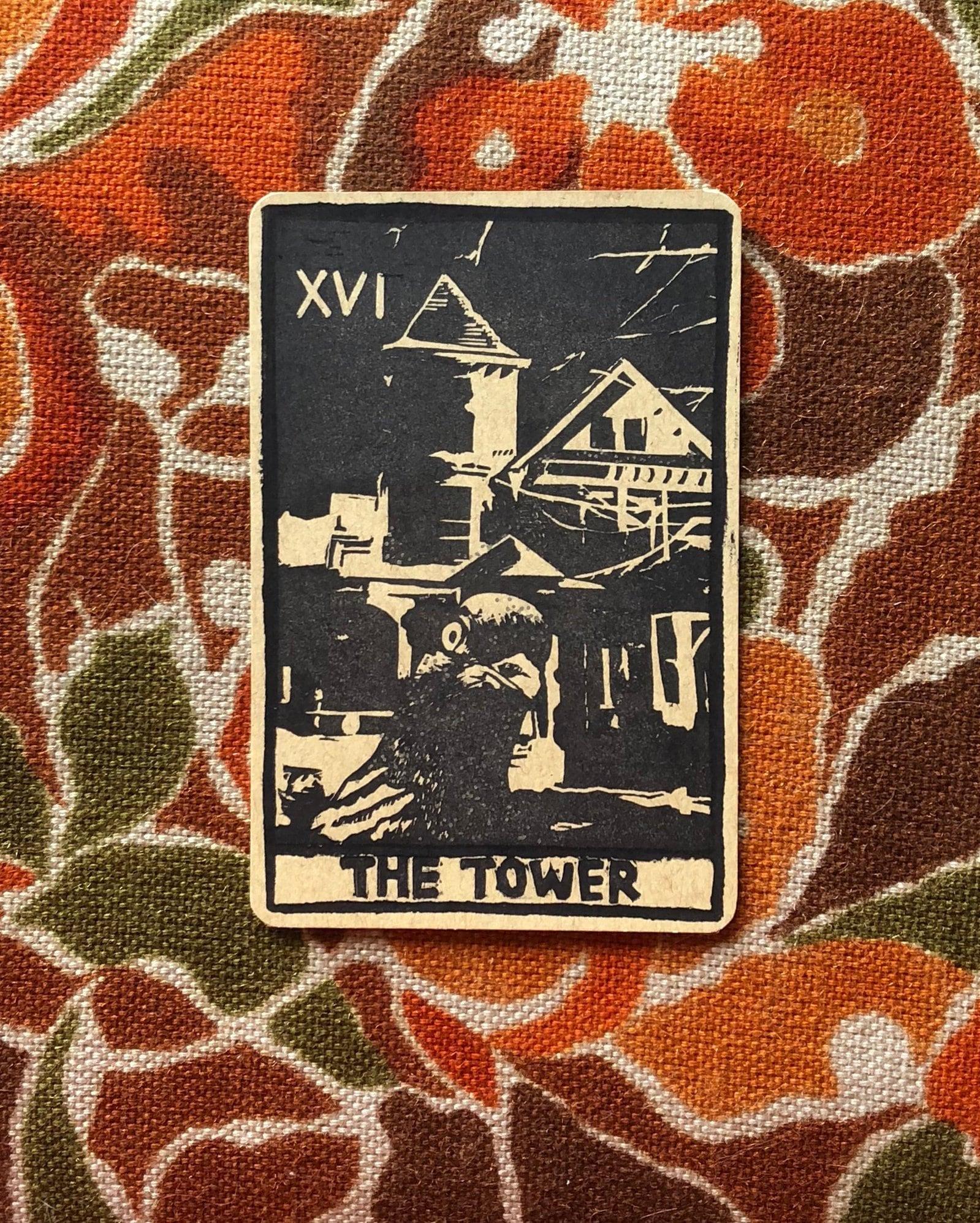 The Tower Tarot 4
