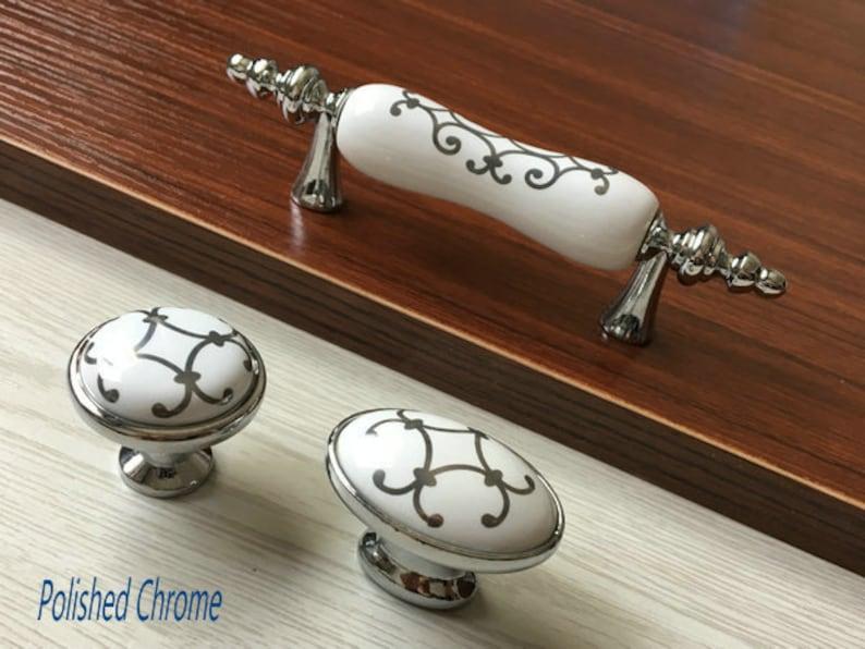 4Pcs of 1:12 dollhouse miniature drawer handles drawer pulls GR