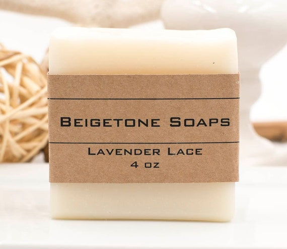 Lavender Lace Avocado Bar | 4oz | Soothing Relaxing