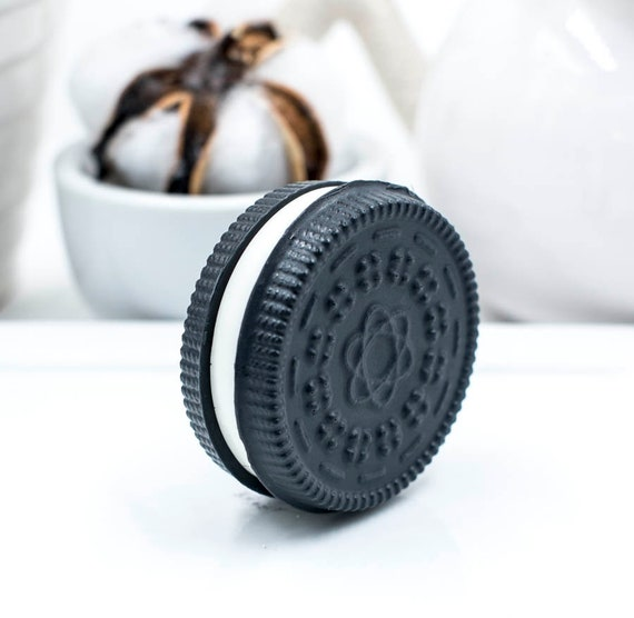 ONE Chocolate Cookie Soap | 1.5 oz each  | Rich Chocolate Scent | Novel Gift | Made with Goats Milk