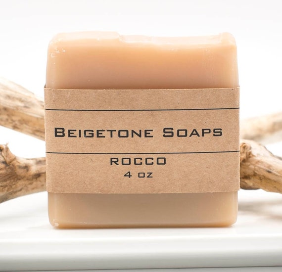 ROCCO Soap Bar | 4oz | Moisturizing Bar | Special Essential Oil Blend | Bubbly Delight!