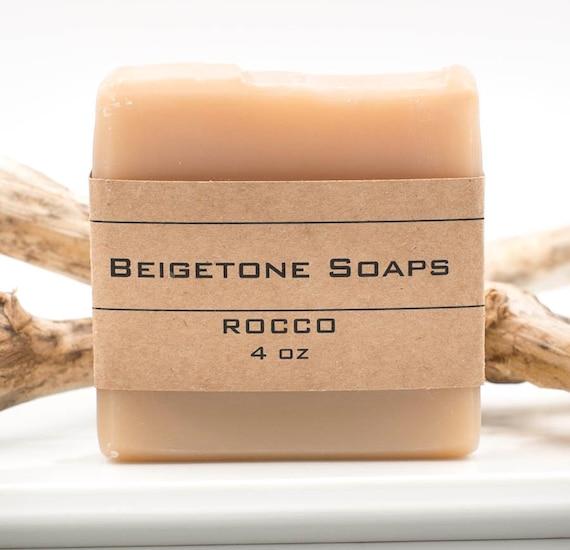 ROCCO Soap Bar | 4oz | Moisturizing Bar | Special Essential Oil Blend | Bubbly Delight!