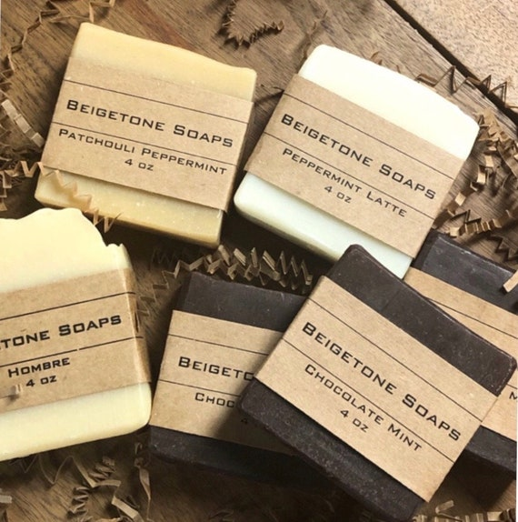3 MONTH Soap SUBSCRIPTION | 3 Soap Bars each Month | 4oz ea. | 9 Different Bars Total