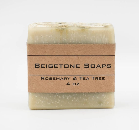 Rosemary and Tea Tree | 4oz | Soothing Essential Oil Bar