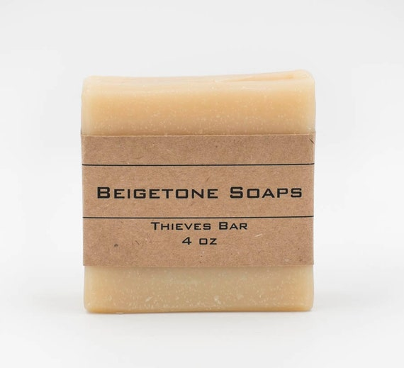 Thieves Bar | 4oz | Insect Repelling Essential Oil Bar