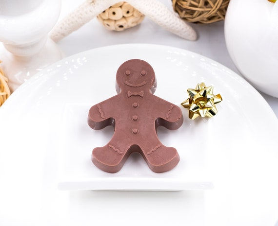 APPLEJACK scented Gingerbread Man Soap | 1.5oz ea. | Holiday Soap Dish Treat | Fun for kids and adults | STOCK UP!