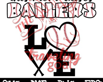 Ballers, This Mom Raises Ballers, Baseball, Baseball mom svg dxf two color cut file stitches baseball file