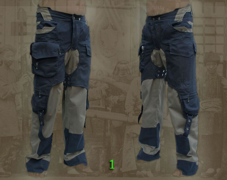 Rebelles Les Steampunk ~ Post Pantalon Apocalyptique 4qRcj53AL