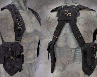 Pandoras Holster Bag ~ neo steampunk machine style