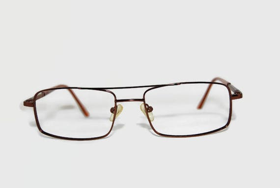 Swedish Opo copper colored eyeglass frames