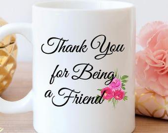Golden Girls mug, Thank you for being a friend