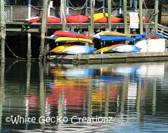 Shem Creek, Kayaks, Paddle Boards, Mt Pleasant SC