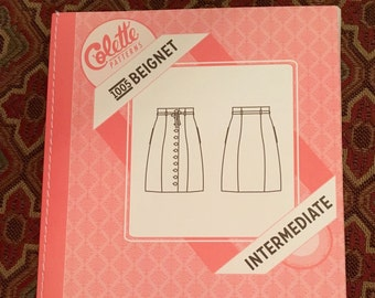Colette Beignet 1005 Skirt Sewing Pattern, Size 0-18, Factory-folded