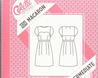 Colette Macaron 1001 Dress: Intermediate sewing pattern, sizes 0-18, factory-folded