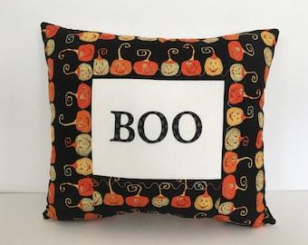 Boo pillow, Halloween pillow