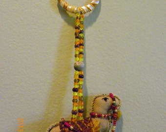 Camels Door Hanging, bell Handmade Beaded