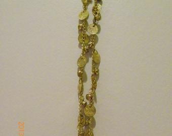 Brass Coin bells metals string