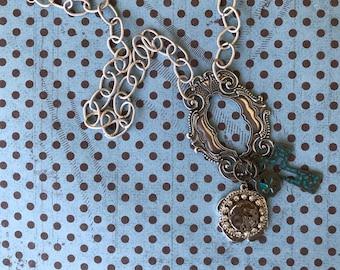 Women's Necklace's, Women's Jewelry, Long Necklaces, Charm Necklace's, Womans Charm Necklace, Steampunk Jewelry, Unique Jewelry,
