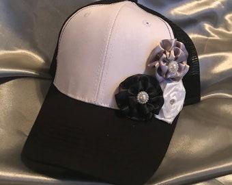Black Hats, Hats, Bling Trucker Hats, Ball Cap, Womens Hats, Womens Hats, Black Trucker Hat, Trucker Hats, Womens Hat