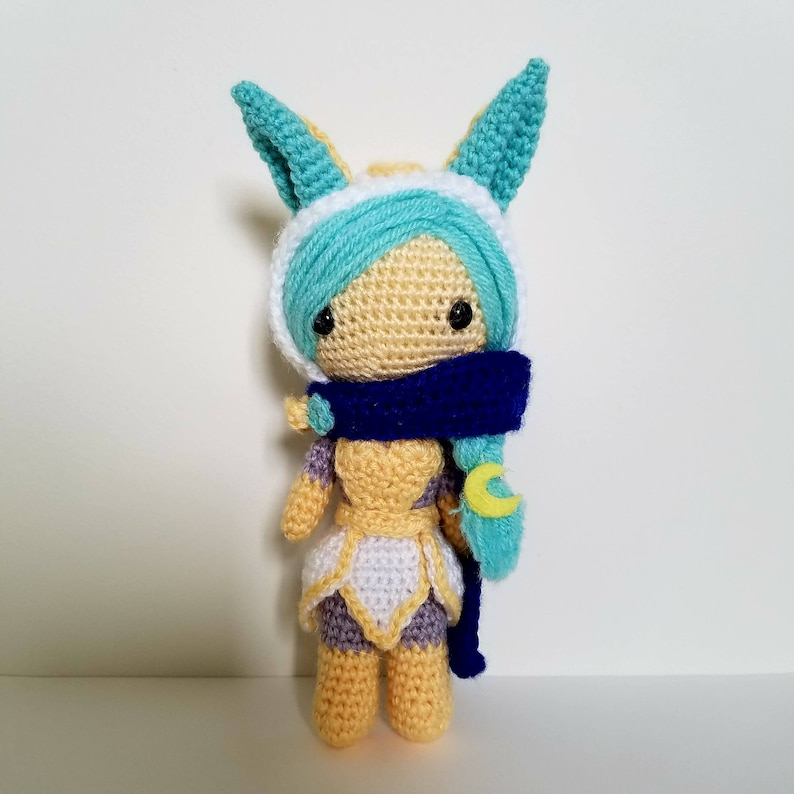 League of Legends Cosmic Dusk Xayah Amigurumi