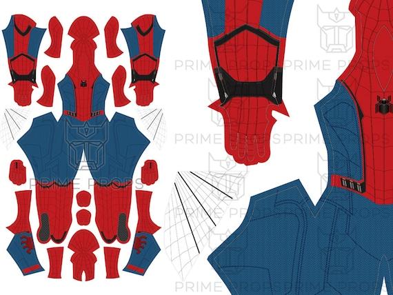 Patrón de traje de Spiderman de regreso a casa  22e5493a9b95