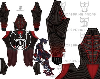 Kingdom Hearts Vanitas Pattern