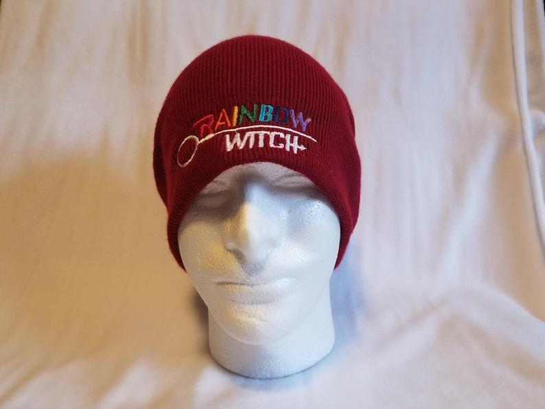 a0983f1a74e Rainbow Witch Deanoru Beanie Hat