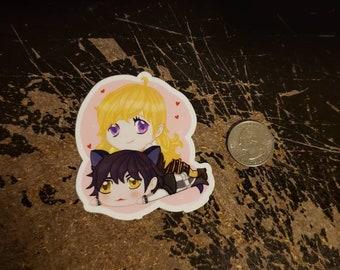 Yang and Blake vinyl sticker