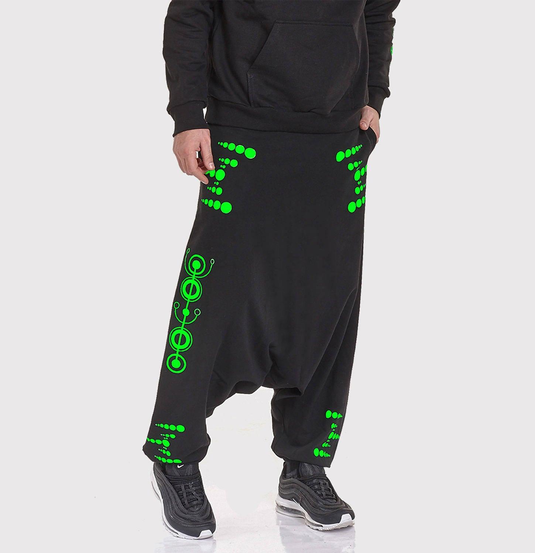 Pantalon unisexe ORION avec deux poches sur le côté gauche et et gauche sur le côté droit [avec pas de poches pour les femmes] fluo vinyle ou le reflet 7fbe4f