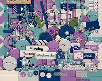 Chasing Dreams - Digital Scrapbooking Kit